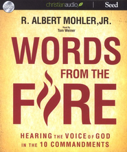 Words from the Fire: Unabridged Audiobook on CD  -     By: R. Albert Mohler Jr.