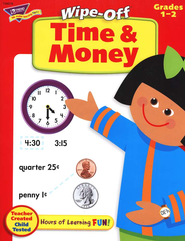Time & Money Wipe-Off Books  -