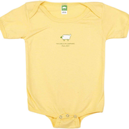 The Lord Is My Shepherd Romper, Yellow, 6 Months  -