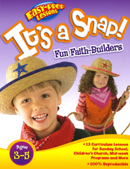 It's a Snap! Easy Prep Lessons for Preschool   -