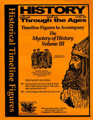 Timeline Figures to Accompany The Mystery of History, Volume 3  -