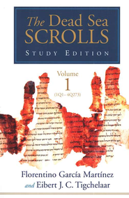 Dead Sea Scrolls Study Edition, 2 Volume Set   -     By: Florentino Garcia Martinez, Eibert Tigchelaar