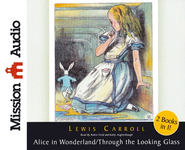 Alice in Wonderland and Through The Looking Glass Unabridged Audiobook on CD  -              Narrated By: Robin Field                   By: Lewis Carroll