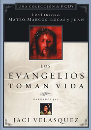 Los Evangelios Toman Vida, Biblia en CD  (The Gospels Come to Life, Audio Bible on CD)  -     By: Jaci Velasquez