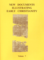 New Documents Illustrating Early Christianity, Volume 7  -     By: S.R. Llewelyn