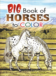 Big Book of Horses to Color  -     By: John Green