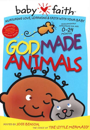 God Made Animals, A Babyfaith DVD   -