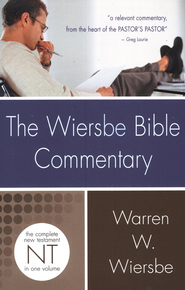 Wiersbe Bible Commentary NT  -     By: Warren W. Wiersbe