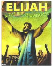 HOBC Bible Big Book: Elijah and the Big Showdown  -