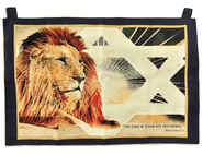 Lion of Judah Tapestry Banner   -