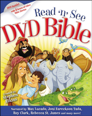 Read 'n' See DVD Bible--Book and DVD   -     By: Stephen Elkins