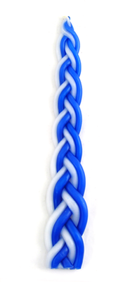 Braided Havdalah Candle   -