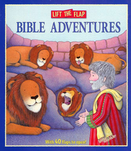 Lift the Flap Bible Adventures, Board Book   -     By: Allia Zobel-Nolan     Illustrated By: Trace Moroney
