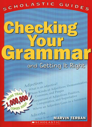 Checking Your Grammar   -     By: Marvin Terban
