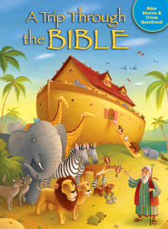 A Trip Through the Bible: Bible Stories and Trivia Questions  -     By: Tracy Harrast