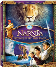 The Chronicles of Narnia: The Voyage of the Dawn Treader (2010),  Blu-ray Combo  -