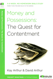 Money and Possessions - Slightly Imperfect  -     By: Kay Arthur, David Arthur