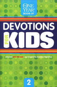One Year Book of Devotions for Kids #2   -