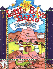 Little Boys Bible Storybook for Fathers and Sons  -              By: Carolyn Larsen