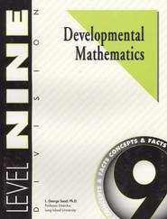 Developmental Math, Level 9, Educator's Guide   -     By: L. George Saad