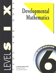 Developmental Math, Level 6, Student Workbook   -     By: L. George Saad