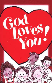 God Loves You! Tracts, 25   -     By: Good News Publishers