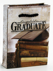 Congratulations Graduate Mini Gift Bag, Gift Card Size   -
