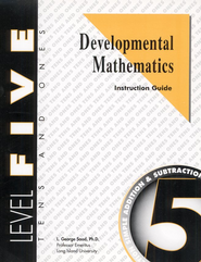 Developmental Math, Level 5, Educator's Guide   -     By: L. George Saad