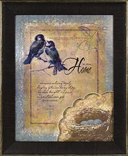 In This Home, Song of Solomon 3:4 Framed Print  -