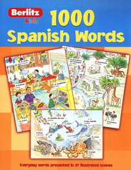 1,000 Spanish Words   -