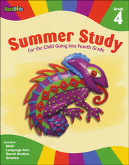 Summer Study: Grade 4  -              By: FlashKids