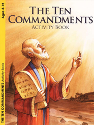 The Ten Commandments (ages 6 to 10), Activity Book  -