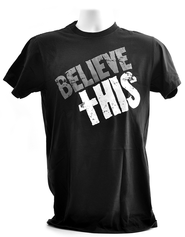 Believe This, Josh Hamilton Shirt, Black, Extra Large  -