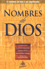 Nombres de Dios, Folleto (Names of God, Pamphlet)   -