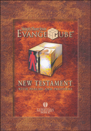 HCSB EvangeCube New Testament with Psalms & Proverbs   -
