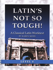 Latin's Not So Tough! Level 4 Workbook   -