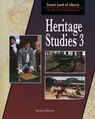 BJU Heritage Studies Grade 3 Student Text, Second Edition   -