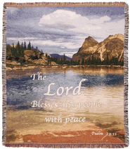The Lord Blesses His People Throw  -