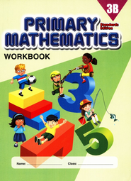Primary Mathematics Workbook 3B (Standards Edition)   -
