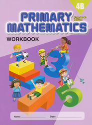 Primary Mathematics Workbook 4B (Standards Edition)   -