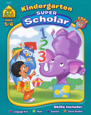 Kindergarten Scholar (128 Pages)   -