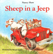 Sheep in a Jeep, Board Book   -     By: Nancy Shaw