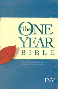 ESV One Year Bible, Paperback   -