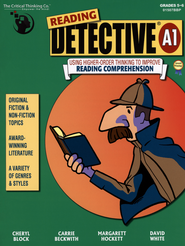 Reading Detective: Using Higher-Order Thinking to Improve Reading Comprehension Book A1 Grade 5-6               -
