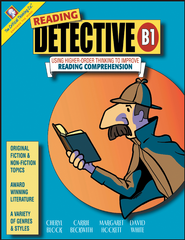 Reading Detective: Using Higher-Order Thinking to   Improve Reading Comprehension Book B1 Grade 7-8               -