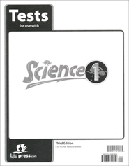 BJU Science Grade 1 Test Pack, Third Edition    -
