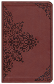 ESV Classic Thinline TruTone Bible, Nutmeg with Filigree Pattern  -