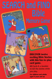 Search and Find Bible Memory Game  -