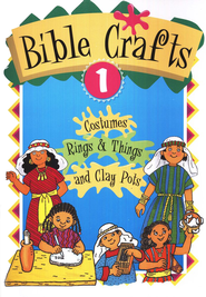 Crafts for Kids #1: Bible Times  -     By: Neva Hickerson     Illustrated By: Chizuko Yasuda