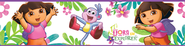 Dora, Vinyl Wall Stickers Border  -